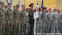 Ukraine NATO Manöver US Soldaten 15.09.2014