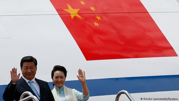 Xi Jinping in Sri Lanka 16.09.2014