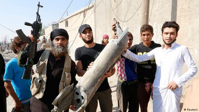 IS Kämpfer in Raqqa Syrien 16.09.2014