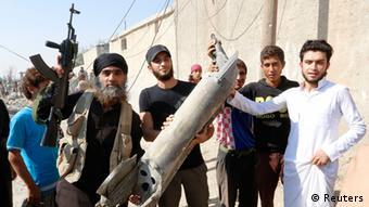 Боевики Исламского государства в Сирии
