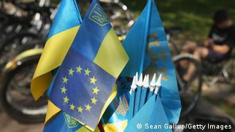 Symbolbild Ratifizierung des EU - Ukraine Abkommens