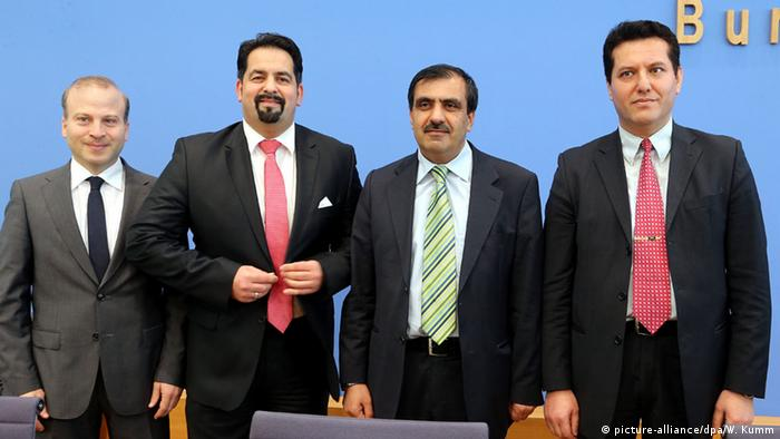 Pressekonferenz des Koalitionsrats der Muslime in Berlin 16.09.2014