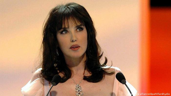 Isabelle Adjani on stage (picture-alliance/dpa/Villard/Lydie)