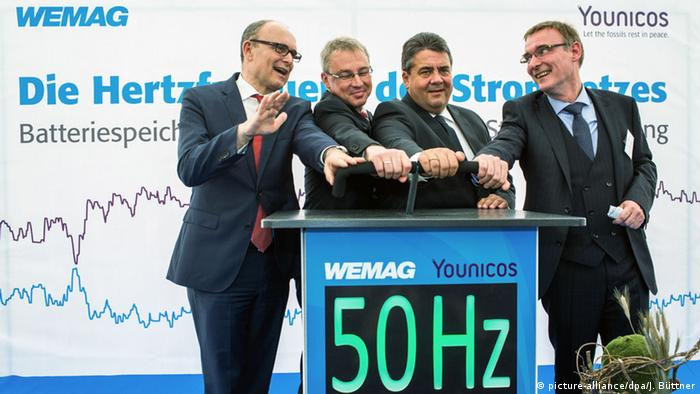 Eröffnung größter Batteriepark Europas in Schwerin (Foto: dpa)