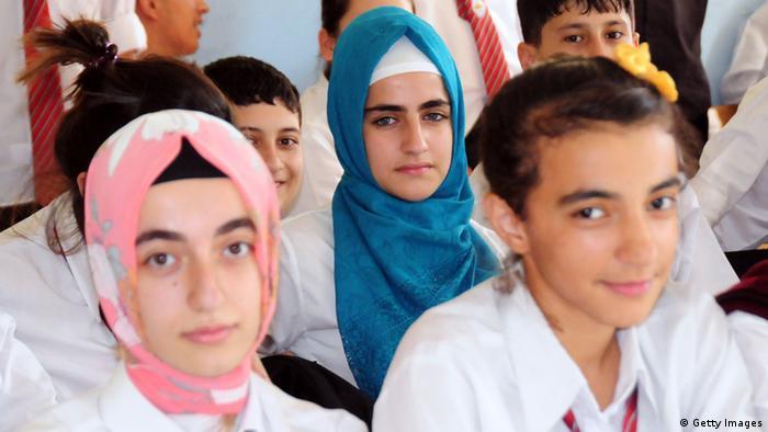 Урок религии образование в одной из школ Турции