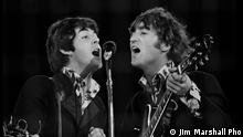 Bildergalerie Photokina Musikerfotos Paul McCartney and John Lennon