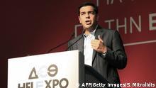 Alexis Tsipras, griechische Oppositionspartei Syriza