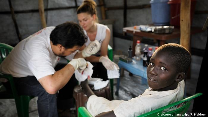MSF doctors in South Sudan