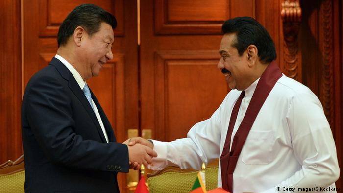 Sri Lanka - Chinas Präsident Xi Jinping