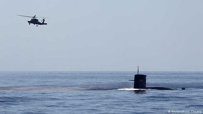 Taiwan Militärmanöver 17.09.2014 (Reuters/Pichi Chuang)