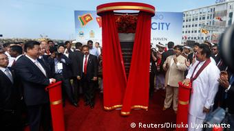 Xi Jinping in Sri Lanka 17.09.2014