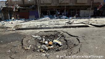 Irak Anschlag mit einer Autobombe in Bagdad 19.07.2014