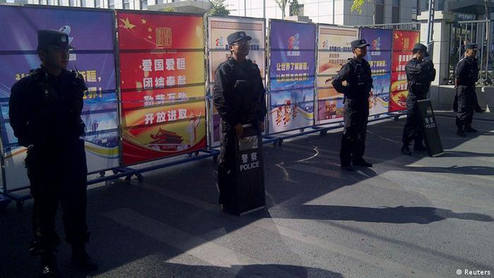 China Gerichtsprozess Uiguren 17.09.2014