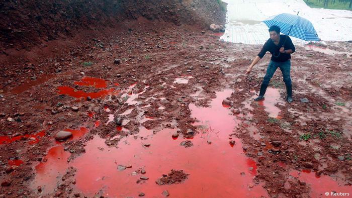 China Umweltverschmutzung 15.09.2014