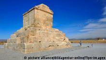 Pasargade, Pasargadai im Zagrosgebirge, Grabmal Kyros II