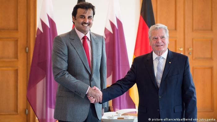 Al-Thani bei Gauck 17.09.2014 Berlin