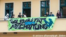 Flüchtlingsaktivisten besetzen Bundesgeschäftsstelle von Bündnis 90/Die Grünen 17.09.2014