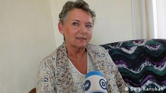 Margret Gieraths-Nimen, Leiterin der Gerlib Clinic in Monrovia, Liberia