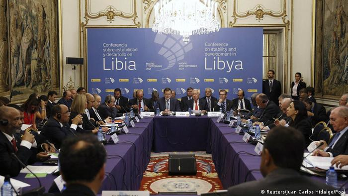 Internationale Libyen-Konferenz in Madrid, Spanien 17.09.2014