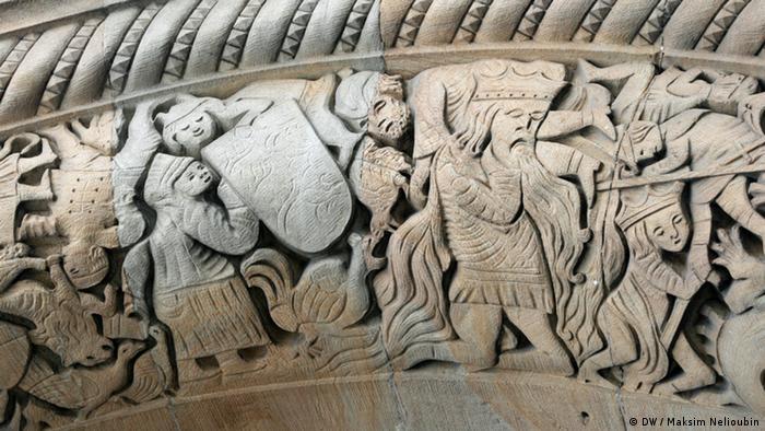 Барельеф на портале Княжеского павильона