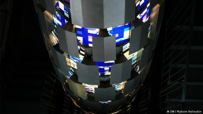 Веретено в музейной башне