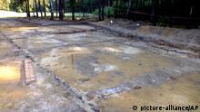 Gaskammern in Sobibor entdeckt
