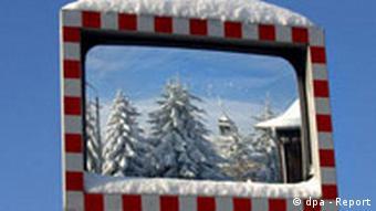 BdT Neuschnee im Erzgebirge