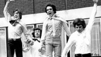 Pink Floyd 1967: Roger Waters, Syd Barrett, Nick Mason und Richard Wright
