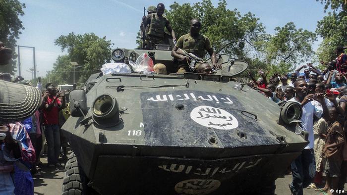 Angriff von Boko Haram im nordöstlichen Stadt Konduga nahe Maiduguri / Nigeria (Foto: epa)