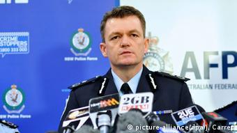 O αρχηγός της ομοσπονδιακής αστυνομίας Άντριου Κόλβιν