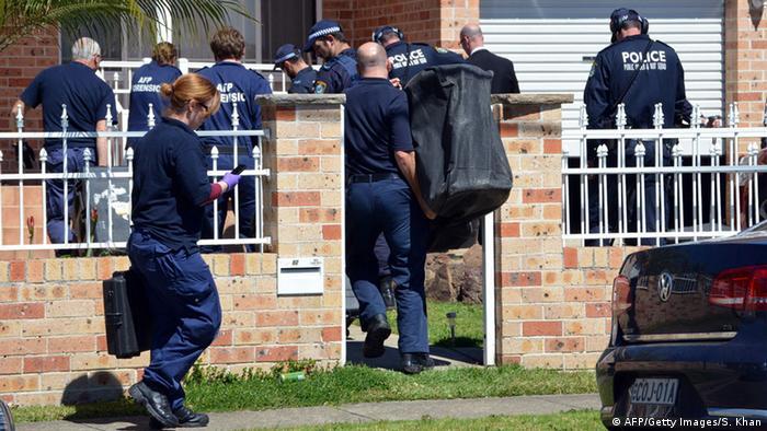 Полицейская операция в Австралии