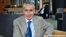 Ramón Jáuregui Atondo, Europaabegeordneter und Praesidente von Euro-Latinamerican Assambly, Strassburg, 17.09.2014 Bild: Banchón