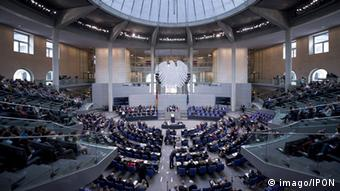 Plenary chamber of the German Bundestag, Copyright: imago/IPON