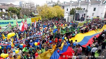 Pro-Regierung Demo in Ecuador 17.09.2014