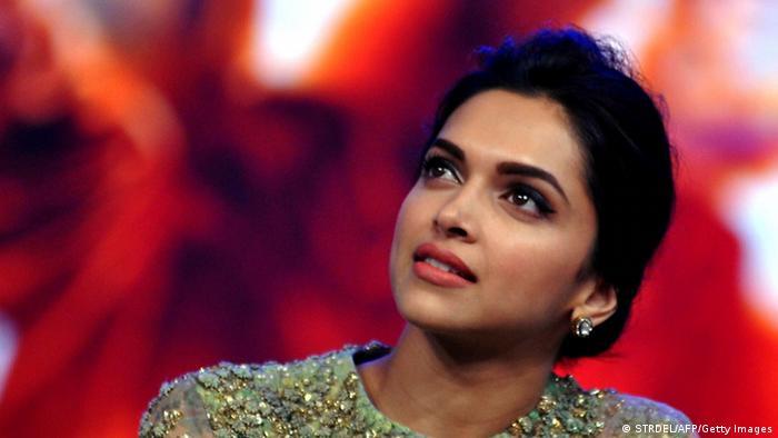 Indische Schauspielerin Deepika Padukone