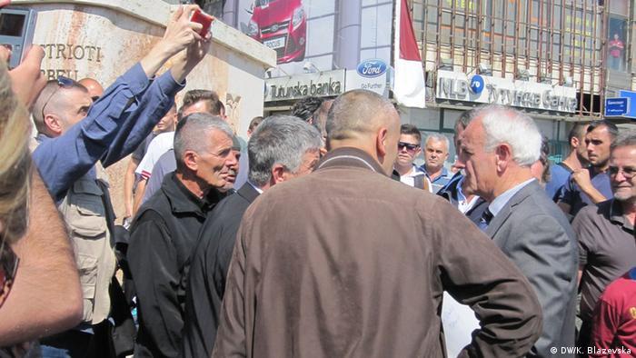 Mazedonien Skopje Nevzat Halili und Idriz Sinani