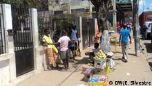 Bürger der Stadt Pemba in Mosambik