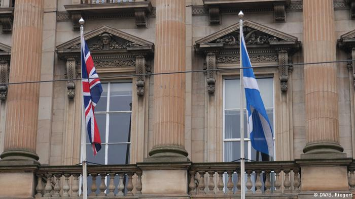 Schottland Referendum 18.09.2014 Royal Bank of Scotland