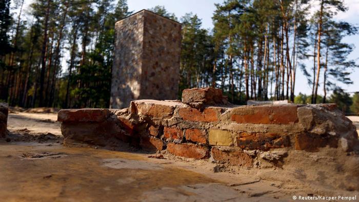 Ruins of gas chambers at Sobibor