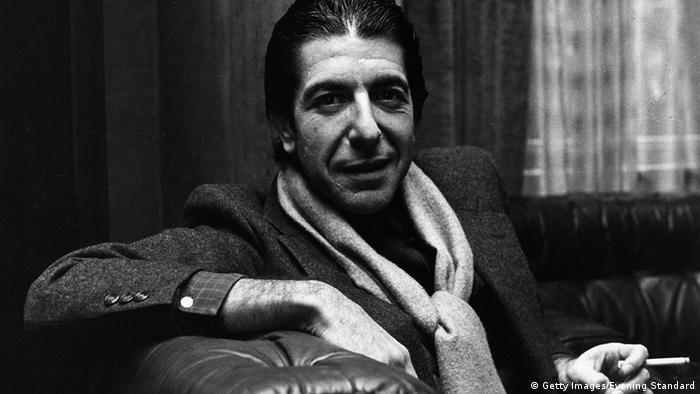 Kanada Musik Pop Sänger Leonard Cohen (Getty Images/Evening Standard)