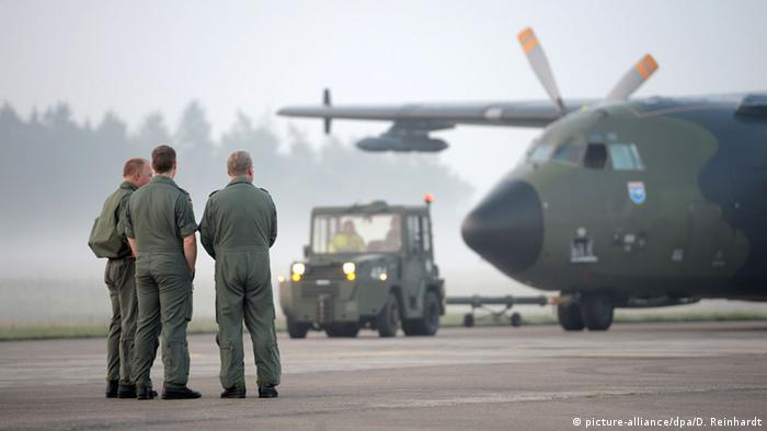 Bundeswehr's transport aircraft Transall from the 1960s