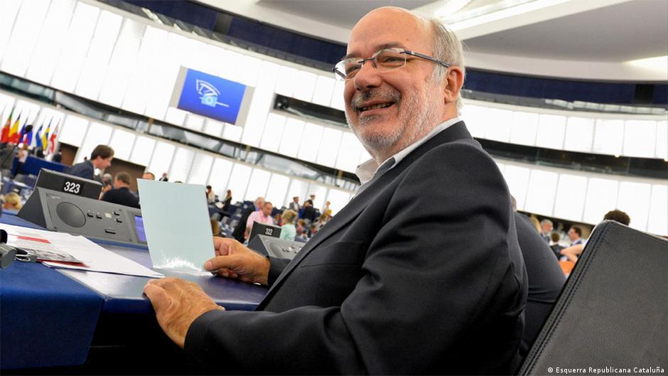 EU-Parlamentarier Josep Maria Terricabra von Katalanien, noch zu Spanien.