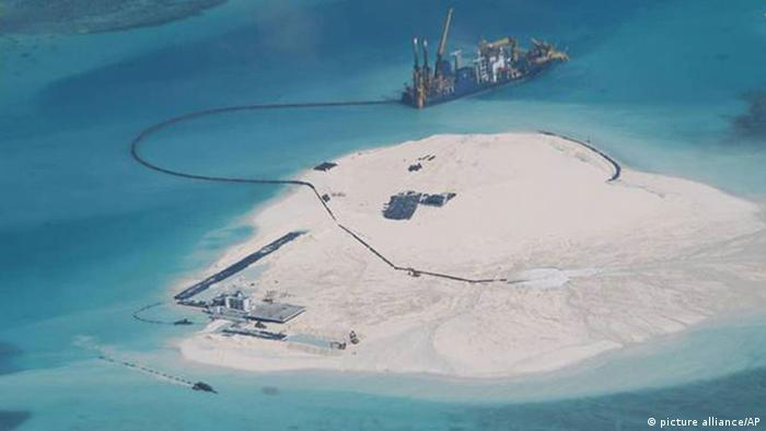 Chinesisches Meer Spratly Islands Territorialkonflikte
