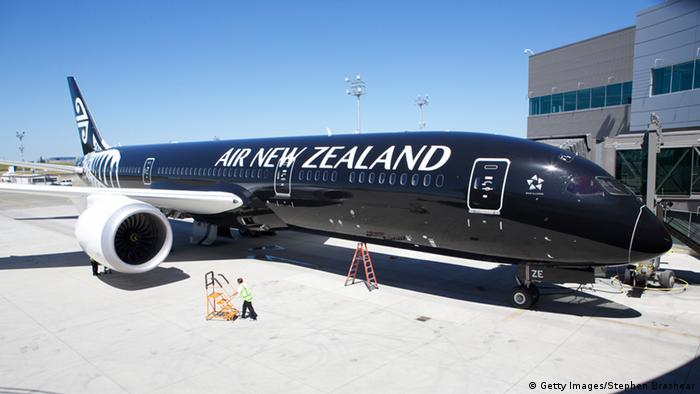 Air New Zealand Flugzeug