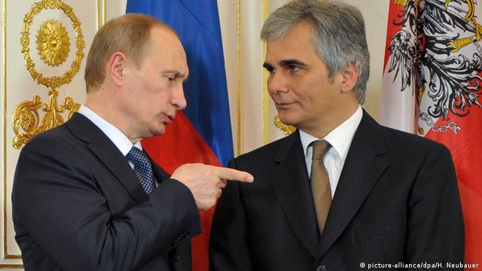 Владимир Путин и Вернер Файман