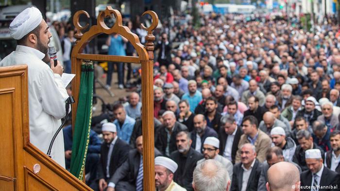 Aktionstag der deutschen Muslime 19.9.2014 Muslime gegen Hass