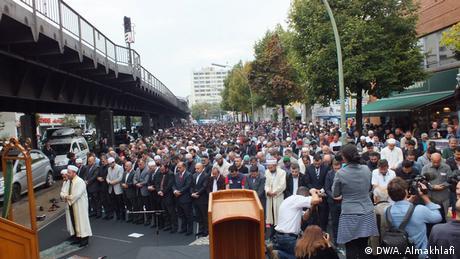 Veranstaltung Unter dem Motto: Muslime stehen auf gegen Hass und Unrecht