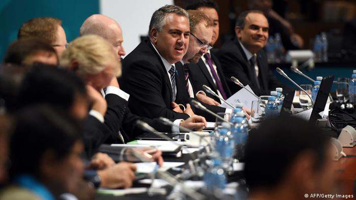 Joe Hockey, australski ministar financija