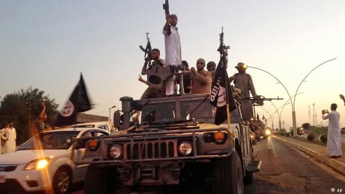 IS Terrormiliz Mossul Irak Photo: AP