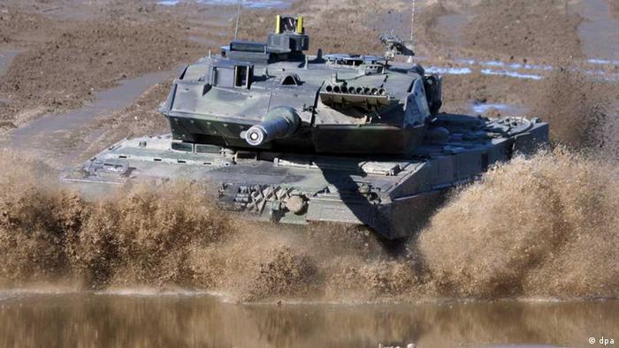 Немецкий танк Leopard